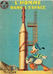 Votre série Mickey (2e série) - Albums Filmés ODEJ -9- L'homme dans l'espace