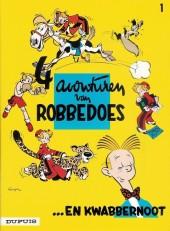 Robbedoes en Kwabbernoot -1- 4 avonturen van robbedoes
