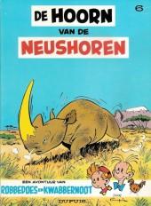 Robbedoes en Kwabbernoot -6- De hoorn van de neushoren