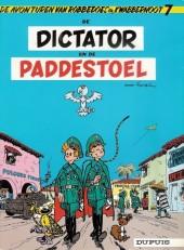 Robbedoes en Kwabbernoot -7- De dictator en de paddestoel