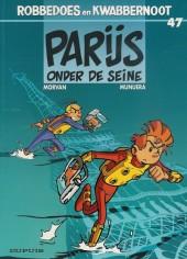 Robbedoes en Kwabbernoot -47- Parijs onder de seine