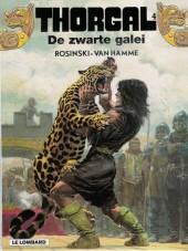 Thorgal (en néerlandais) -4- De zwarte galei