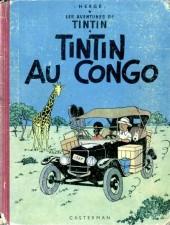 Tintin (Historique) -2B21- Tintin au congo