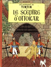 Tintin (Historique) -8B22bis- Le sceptre d'ottokar