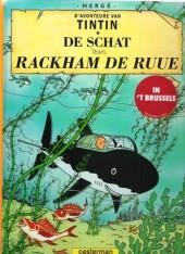 Tintin (en langues régionales) -12Marollien- De Schat van Rackham de Ruue