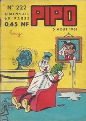 Pipo (Lug) -222- Aventure à la télévision...