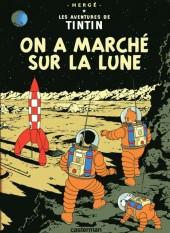 Tintin (Historique) -17C8- On a marché sur la lune
