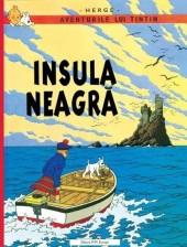Tintin (en langues étrangères) -7Roumain- Insula neagră