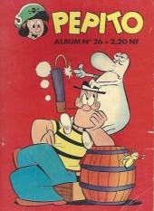 Pepito (1re Série - SAGE) -REC26- Album n°26