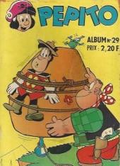 Pepito (1re Série - SAGE) -Rec29- Album N°29