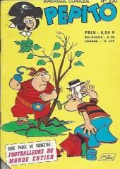 Pepito (1re Série - SAGE) -230- Le bosco n'a pas la bosse... du commerce