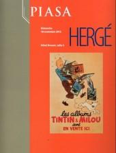 (Catalogues) Ventes aux enchères - Piasa - Piasa - Hergé - dimanche 18 novembre 2012 - Paris hôtel Drouot