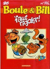 Boule et Bill -03- (Publicitaires) -26Shell- 'faut rigoler !