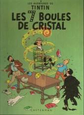 Tintin (Historique) -13B40bis- Les 7 boules de cristal