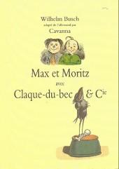 Max et Moritz - Max et moritz avec claque-du-bec et cie