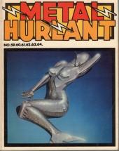 (Recueil) Métal Hurlant -13- Recueil Métal Hurlant du N°59 au N°64