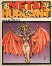 (Recueil) Métal Hurlant -12- Recueil Métal Hurlant du N°53 au N°58