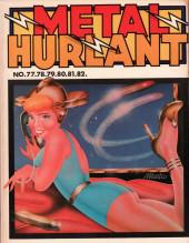 (Recueil) Métal Hurlant -16- Recueil Métal Hurlant du N°77 au N°82