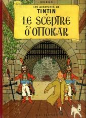 Tintin (Historique) -8B34- Le sceptre d'ottokar