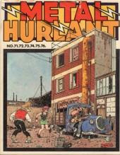 (Recueil) Métal Hurlant -15- Recueil Métal Hurlant du N°71 au N°76