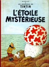 Tintin (Historique) -10B23- L'étoile mystérieuse