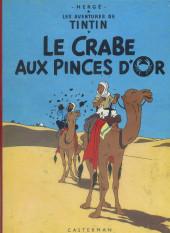 Tintin (Historique) -9B16- Le crabe aux pinces d'or