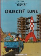 Tintin (Historique) -16B27- Objectif lune