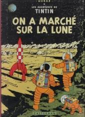 Tintin (Historique) -17B31- On a marché sur la lune