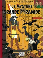 Blake et Mortimer (Les Aventures de) -4Valise- Le Mystère de la Grande Pyramide - Tome 1