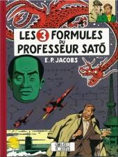 Blake et Mortimer -11Valise- Les 3 formules du Professeur Satô - Tome I