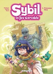 Couverture de Sybil - La fée cartable -4- Princesse nina