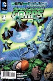 Green Lantern Corps (2011) -ANN1- Annual: rise of the first lantern