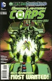Green Lantern Corps (2011) -15- Rise of the third army : falling star