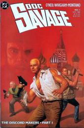 Doc Savage Vol.2 (DC Comics - 1988) -1- The Discord Makers - Part 1
