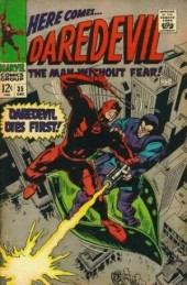 Daredevil Vol. 1 (Marvel - 1964) -35- Daredevil dies first!