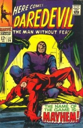 Daredevil Vol. 1 (Marvel - 1964) -36- The name of the game is mayhem!
