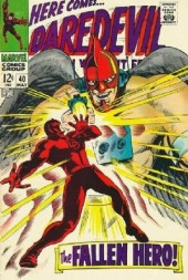 Daredevil Vol. 1 (Marvel - 1964) -40- The fallen hero