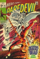 Daredevil Vol. 1 (Marvel - 1964) -56- And death came riding !