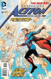 Action Comics (2011) -14- Superman's mission to Mars