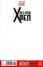 All-New X-Men (Marvel comics - 2012) -1VC3- Issue 1 Blank variant