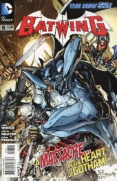 Batwing (2011) -8- What I am... was born from death