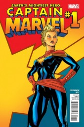 Captain Marvel (2012) -1- Issue 1