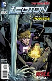 Legion of Super-Heroes (2011) -14- Overwhelmed