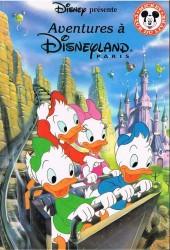 Mickey club du livre -34- Aventures à Disneyland Paris