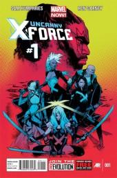 Uncanny X-Force (2013) -1- Let It Bleed