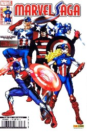 Marvel Saga (1re série - 2009) -17- Le corps des Captain America
