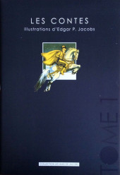 (AUT) Jacobs, Edgar P. -29- Les Contes - Illustrations d'Edgar P. Jacobs - Tome 1