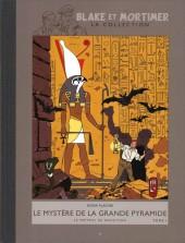 Blake et Mortimer - La collection (Hachette) -4- Le Mystère de la grande pyramide - Tome I - Le Papyrus de Manethon