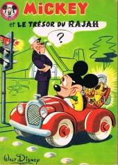 Votre série Mickey (2e série) - Albums Filmés ODEJ -1- Mickey et le trésor du Rajah