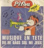 Pifou (Poche) -56- Musique en tête : do ré gags sol mi jeux